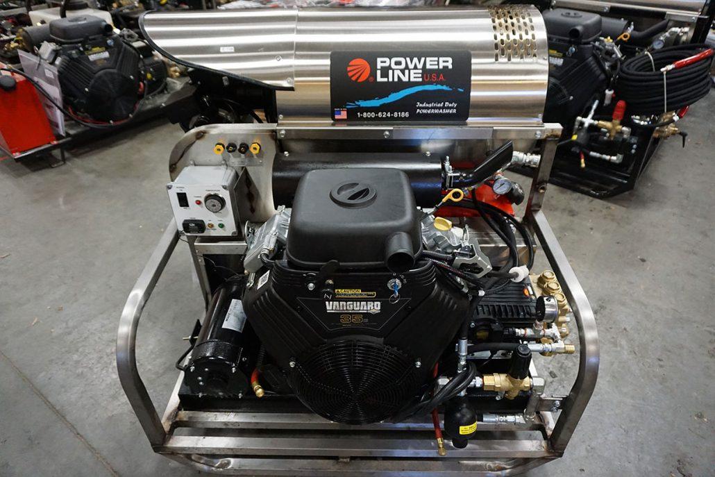 Skid Mounted Pressure Power Washers Power Line