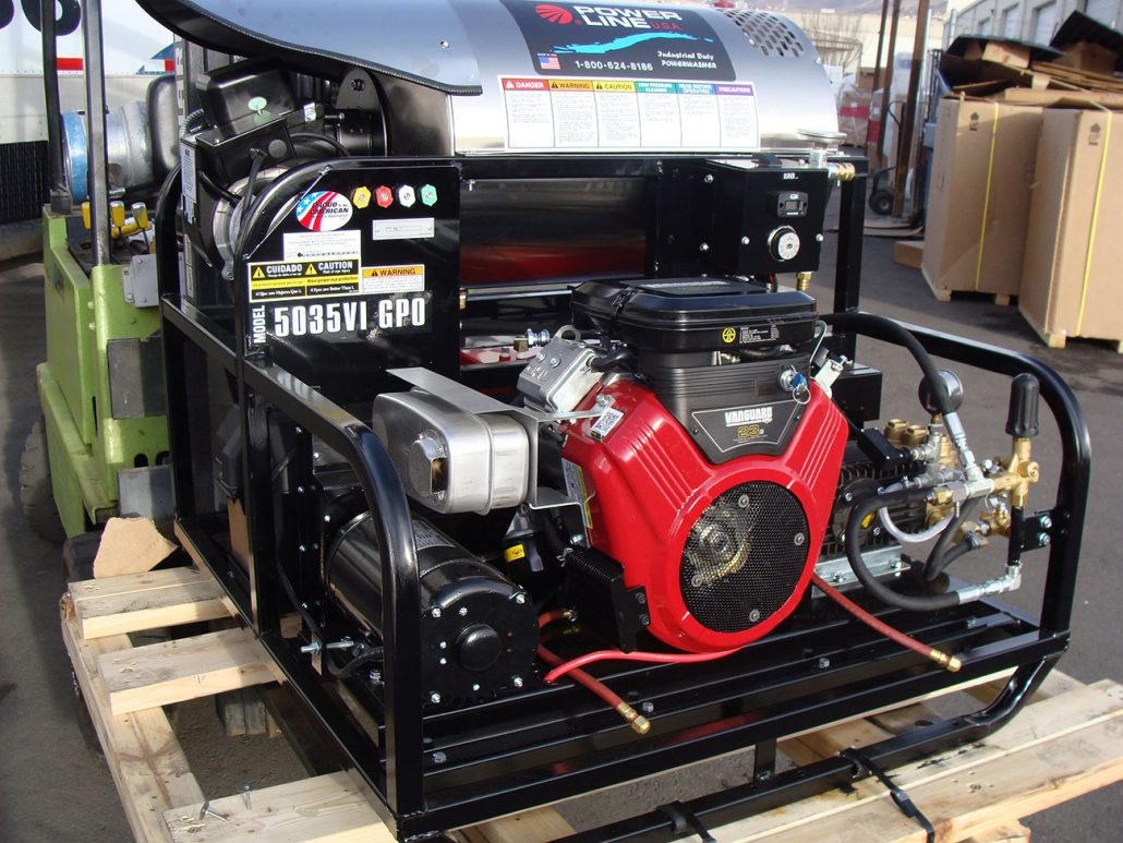 Skid-Mounted Pressure Power Washers - Power Line ...