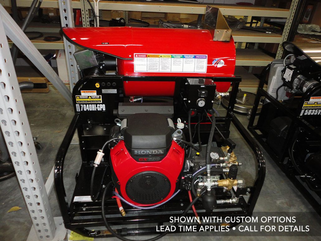 Skid Mounted Pressure Power Washers Line Industries Inc Honda Gx690 Wiring Diagram Model