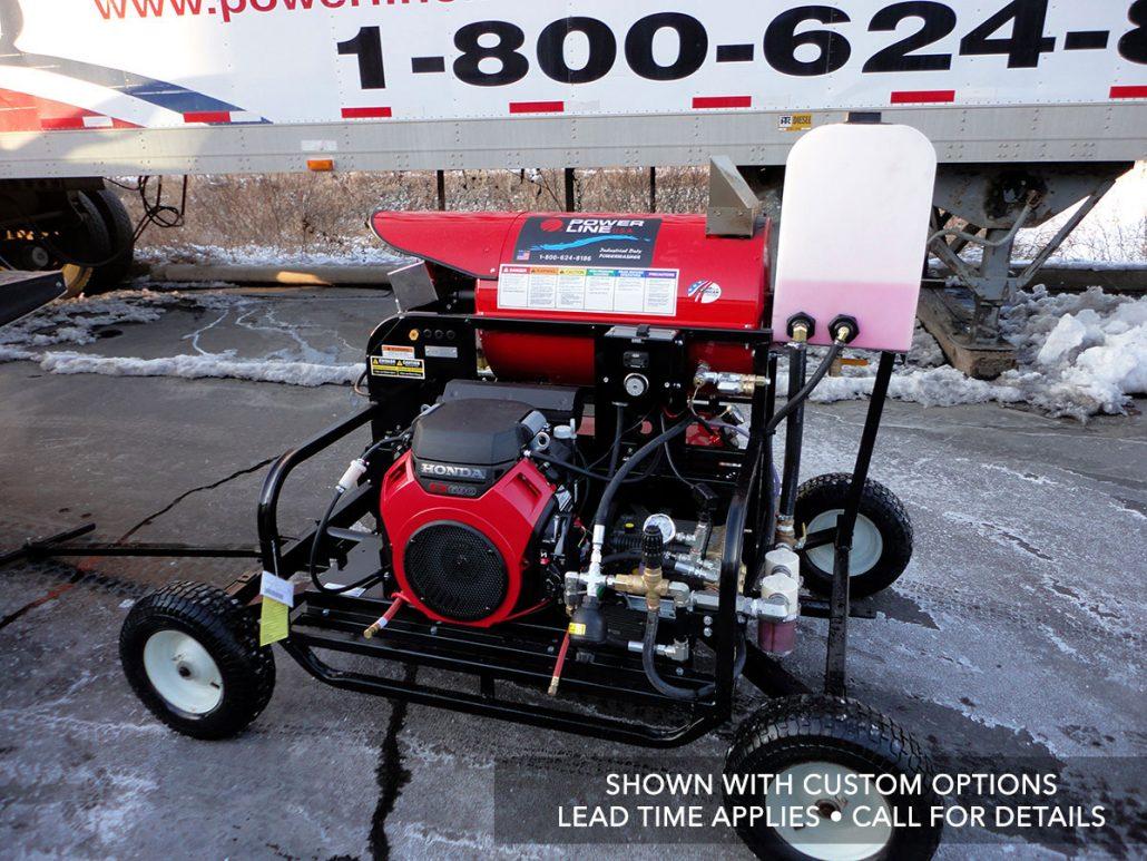 Skid-Mounted Pressure Power Washers - Power Line ...