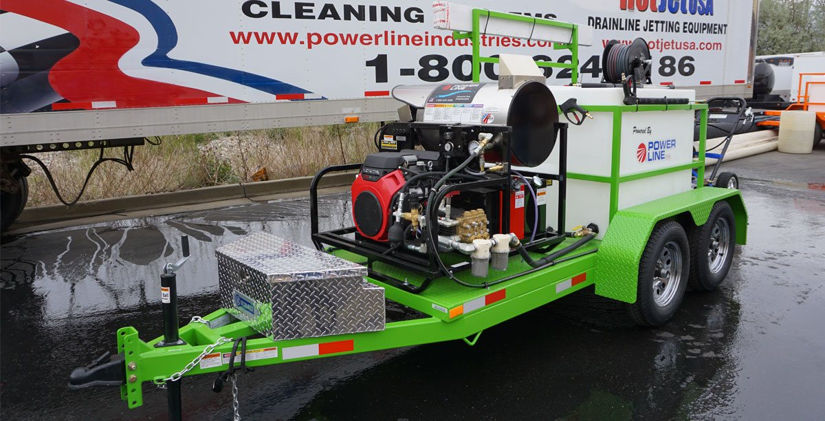Power-Wash-Trailer-23HP-Tandem-Axle-Power-Line