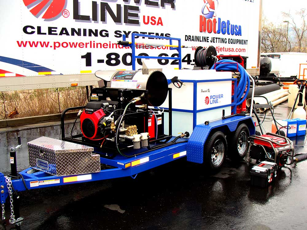 Environmental Power Wash Trailer Pro Package 1 Power