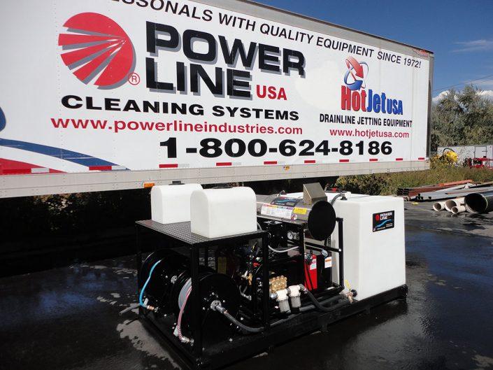 Skid-Mounted Pressure Power Washers - Power Line Industries