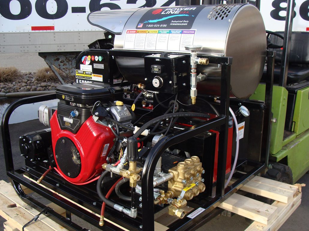 Skid-Mounted Pressure Power Washers - Power Line Industries, Inc