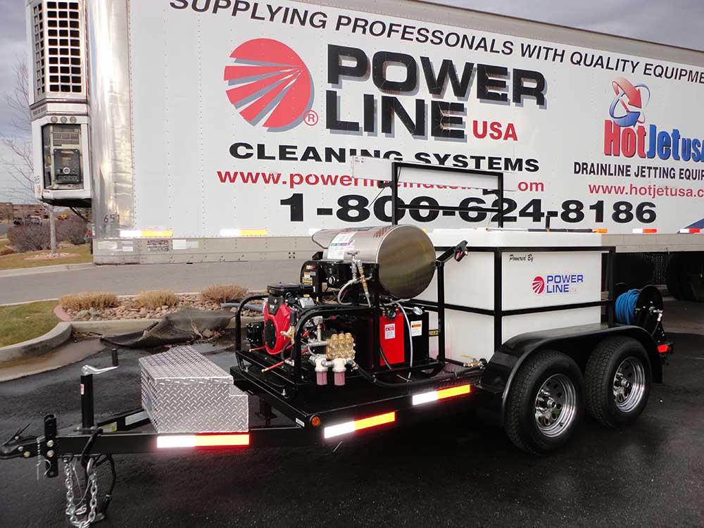 Pressure Washer Gun >> Trailer Power Washers - Power Line Industries, Inc.