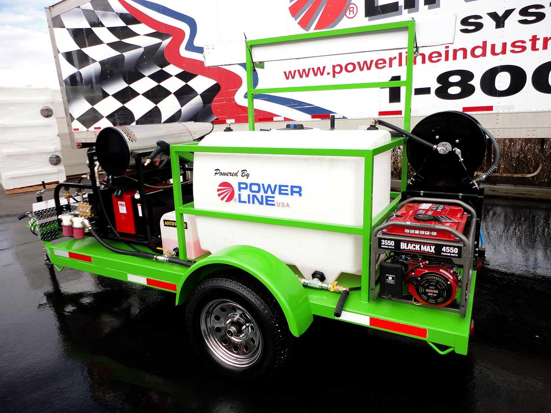18HP-Starter-Power-Wash-Trailer-Green-with-Addon-Generator