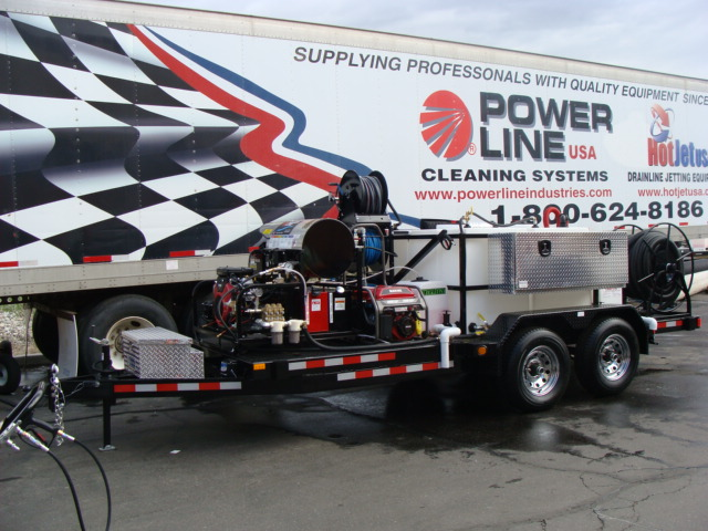 Environmental Power Wash Trailer Pro Package 3 - Power Line